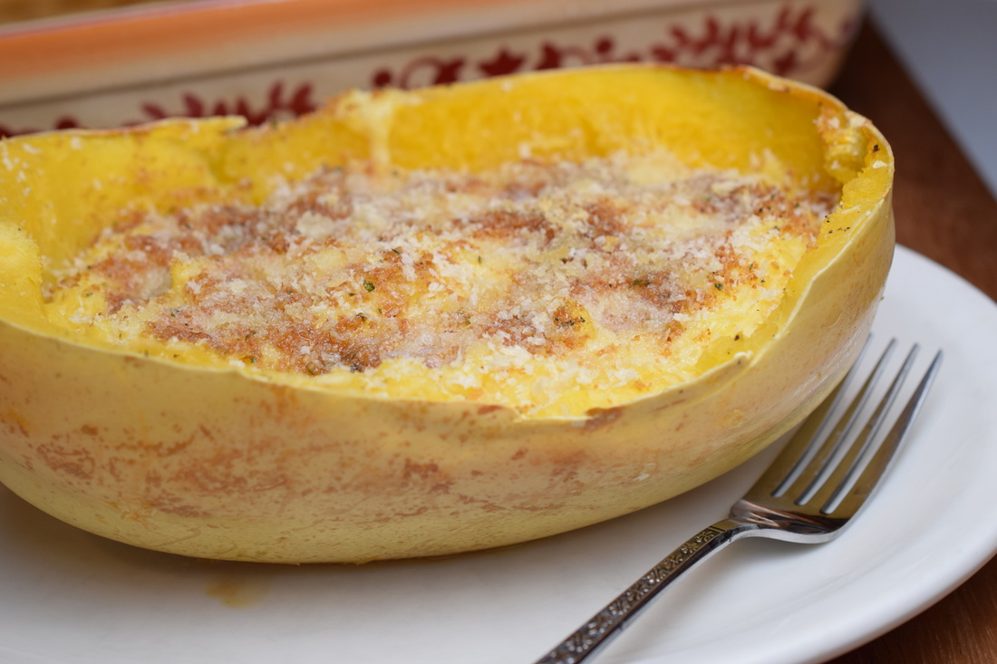 spaghetti squash macaroni and cheese